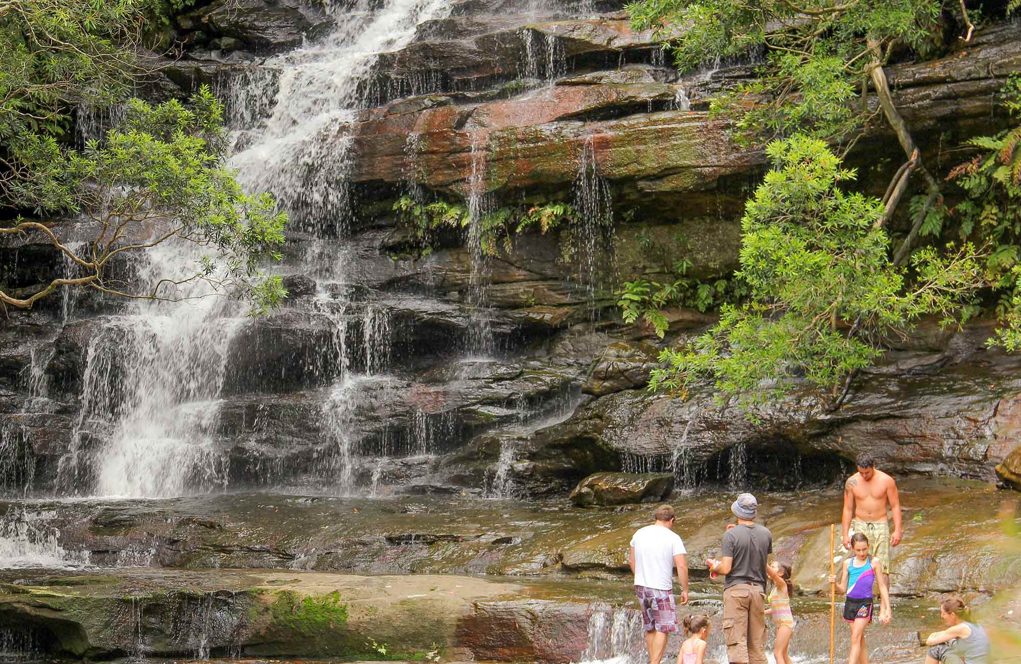 Somersby Falls picnic area,