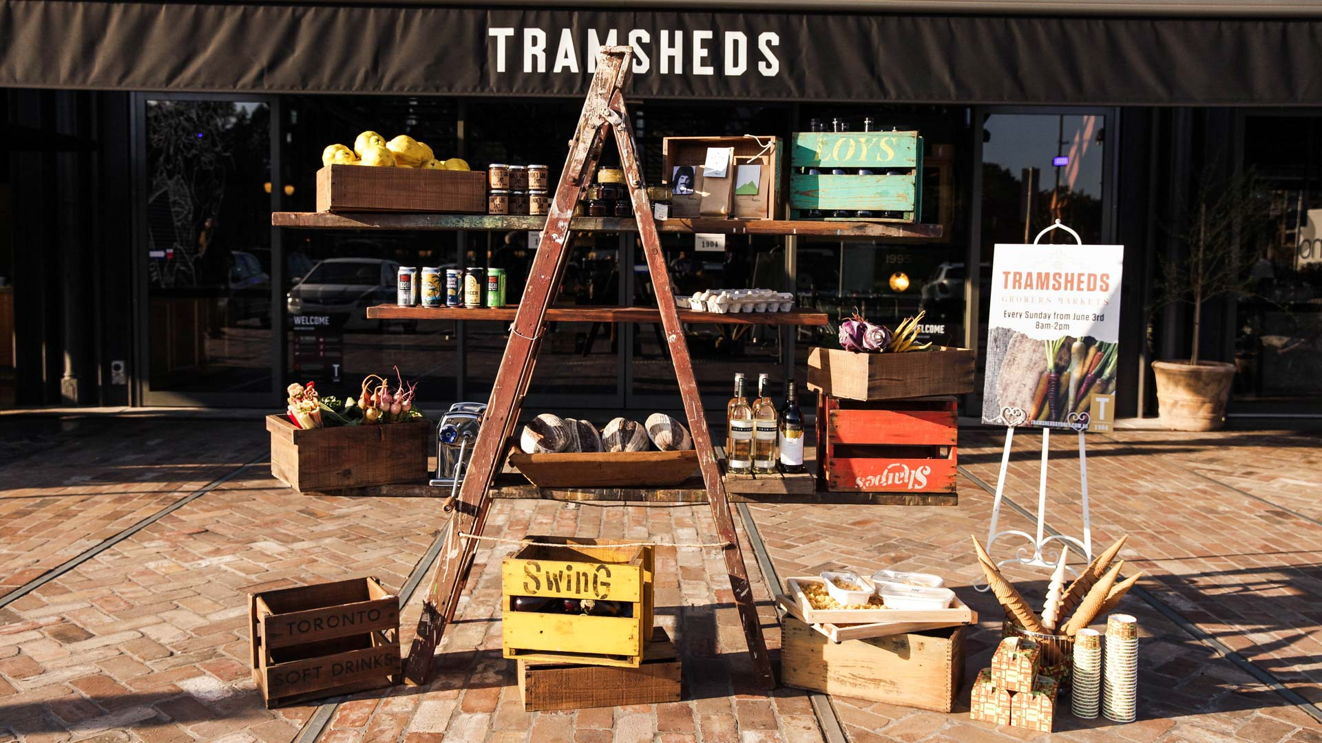 Tramsheds Growers' Markets