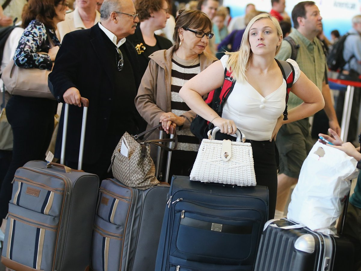 common mistakes at airport sercurity