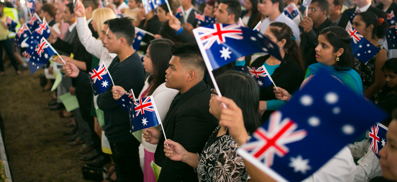 Australia Day citizenship ceremonies