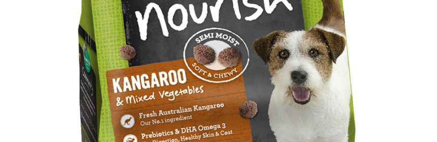 Kangaroo pet food trial