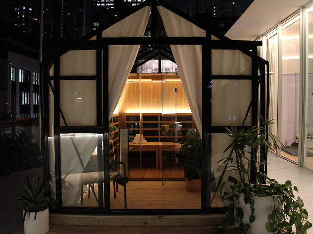 rooftop sauna in Surry Hills