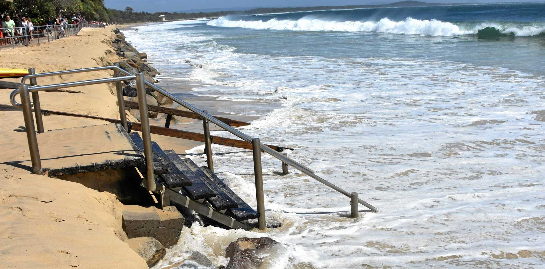 noosa queensland flooded by rising ocean levels